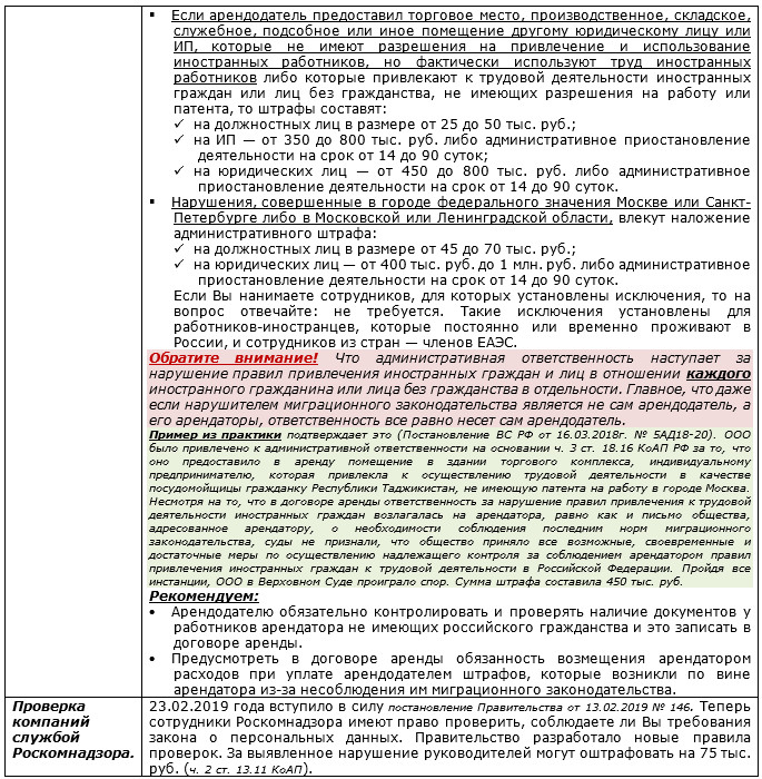 6c7b75cb7798 Обращаем внимание руководителей на то, что произошли некоторые изменения в  организации проверок МВД, ФМС и Роскомнадзора.